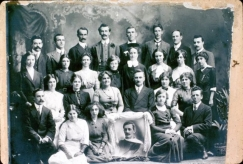 Wesley church choral group c. 1920
