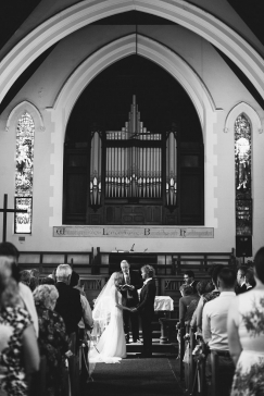 Wedding service at Ross