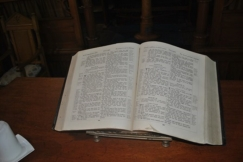 The Bible at Ross Memorial