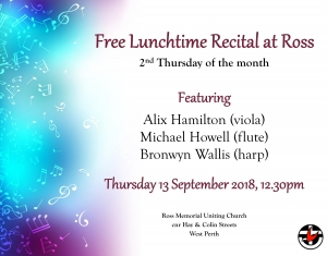 Ross Recital September 2018