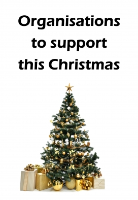 Organisations to support this Christmas