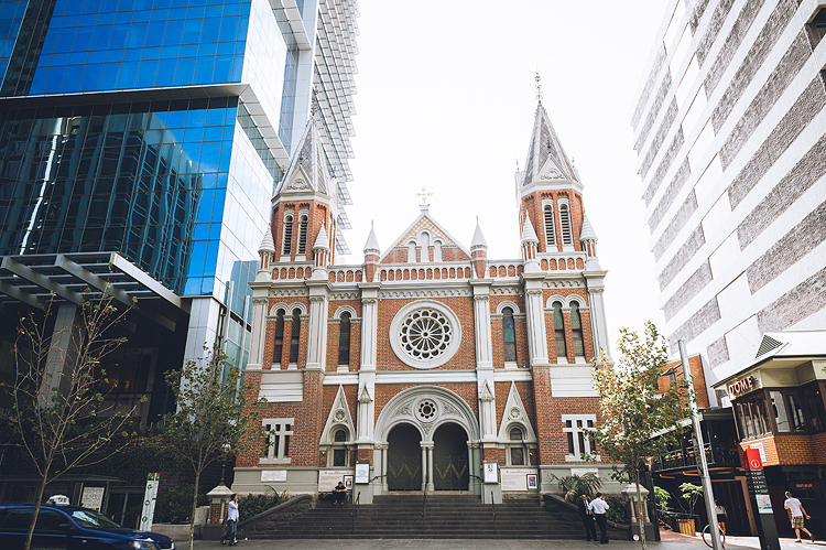 Trinity Church, 72 St Georges Terrace, Perth